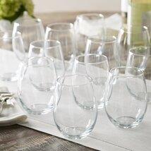 Stemless Wine Glass (Set of 12)