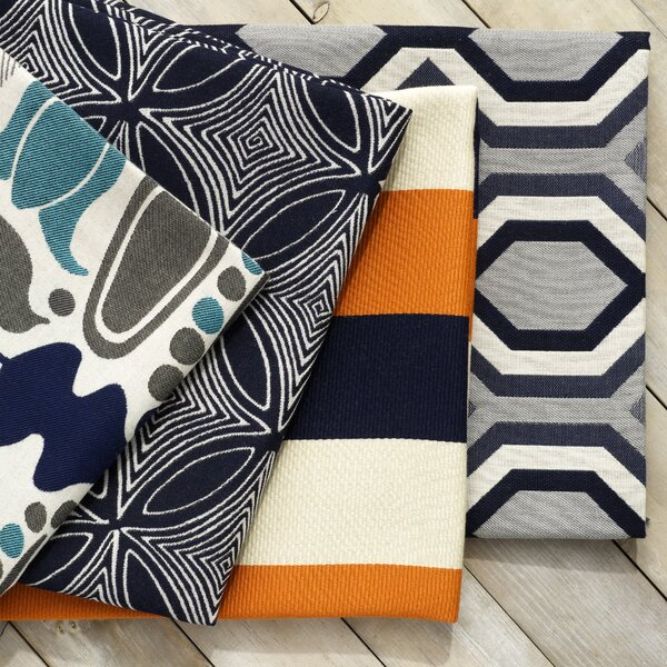 DwellStudio Finmark Fabric -Navy