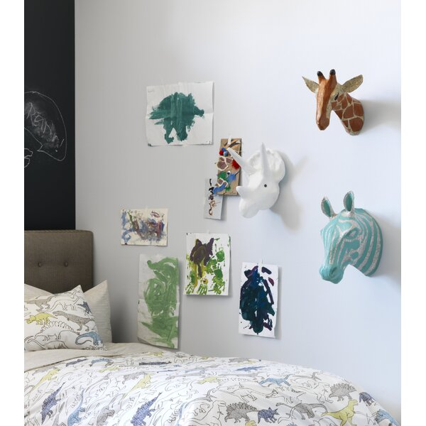 DwellStudio Zebra Sky Papier-Mâché Head Wall Décor