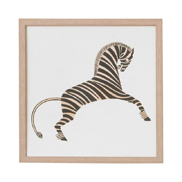 DwellStudio Zebra Artwork