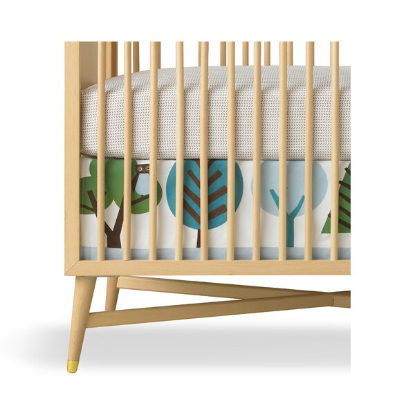 DwellStudio Owls Canvas Crib Skirt