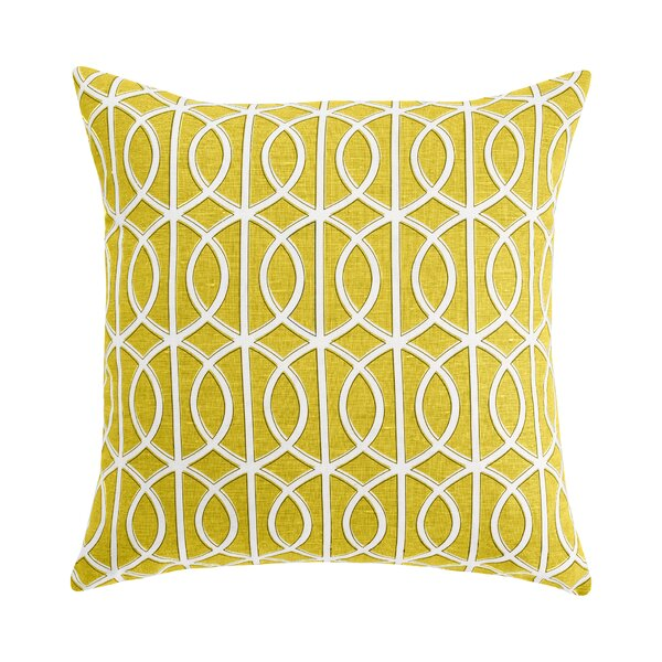 DwellStudio Gate Citrine Pillow Cover