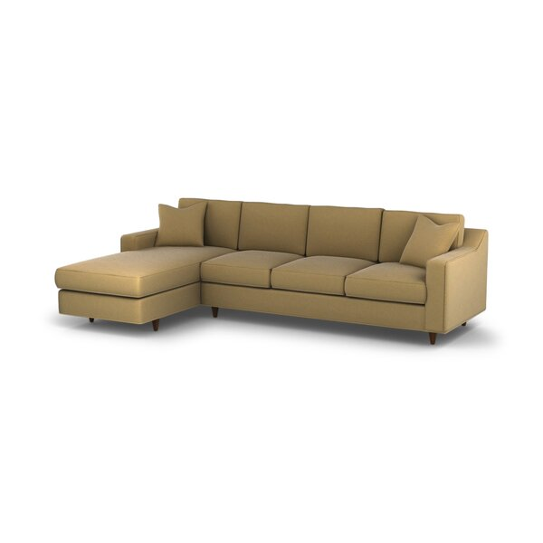 DwellStudio Larkin Left Arm Chaise Sectional Sofa