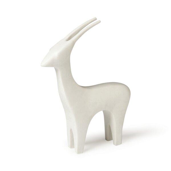 DwellStudio Antelope White Figurine