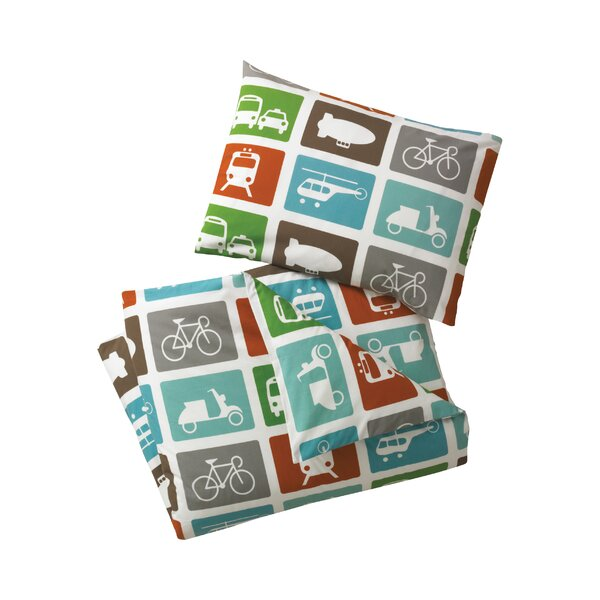 DwellStudio Transportation Duvet Set