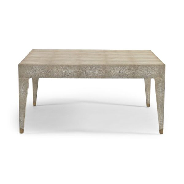 DwellStudio Klein Ivory Shagreen Coffee Table