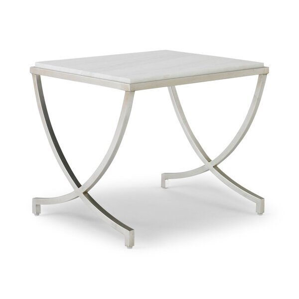 DwellStudio Haviland Silver Leaf Table