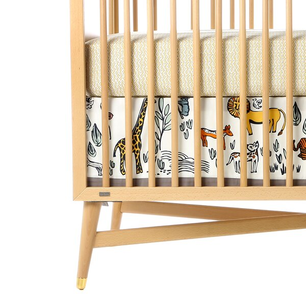 DwellStudio Safari Canvas Crib Skirt