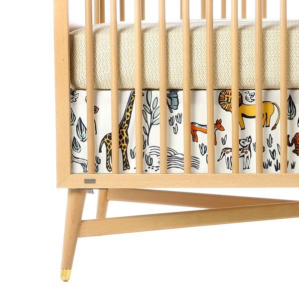 DwellStudio Safari Percale Crib Skirt