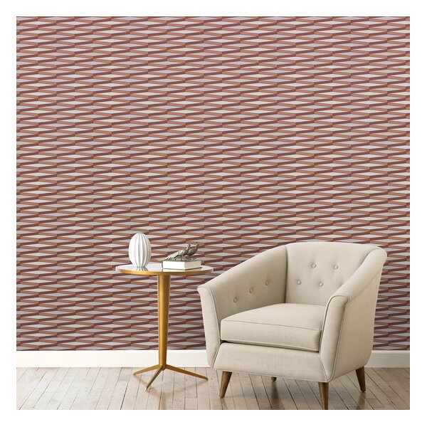 DwellStudio Ribbons Ash Wallpaper