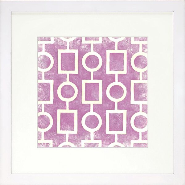 DwellStudio Graphic Pattern Berry Artwork