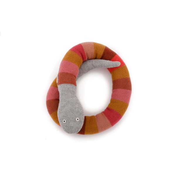 DwellStudio Girl Snake Plush Toy