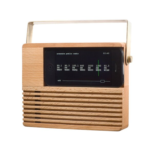 DwellStudio Retro Radio iPhone Dock