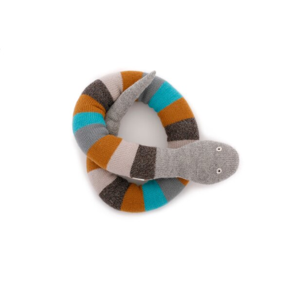DwellStudio Boy Snake Plush Toy