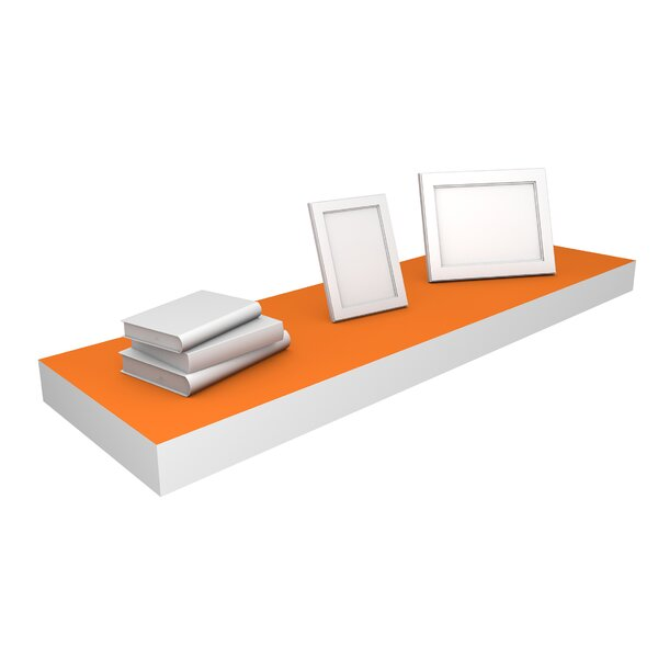 DwellStudio Tangerine Floating Large Shelf