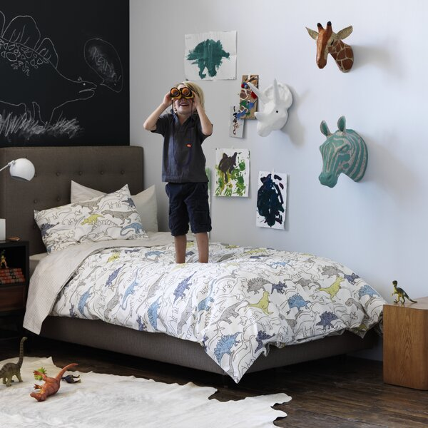 DwellStudio Triceratops Papier-Mâché Head Wall Décor