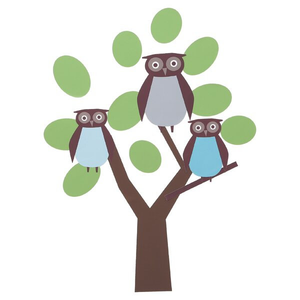 DwellStudio Owls Wall Decals