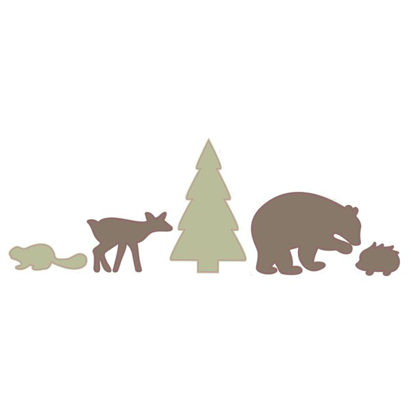 DwellStudio Woodland Tumble Wall Decal