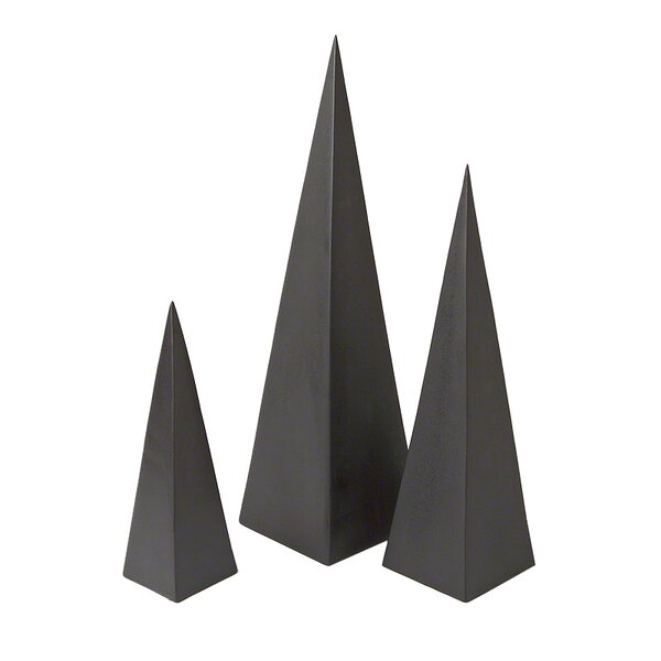 DwellStudio 3 Piece Pyramid Objet Set