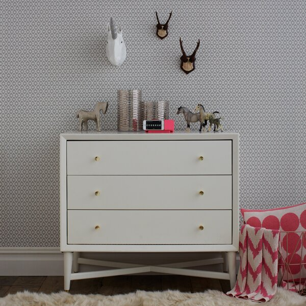 DwellStudio Mid-Century French White Dresser