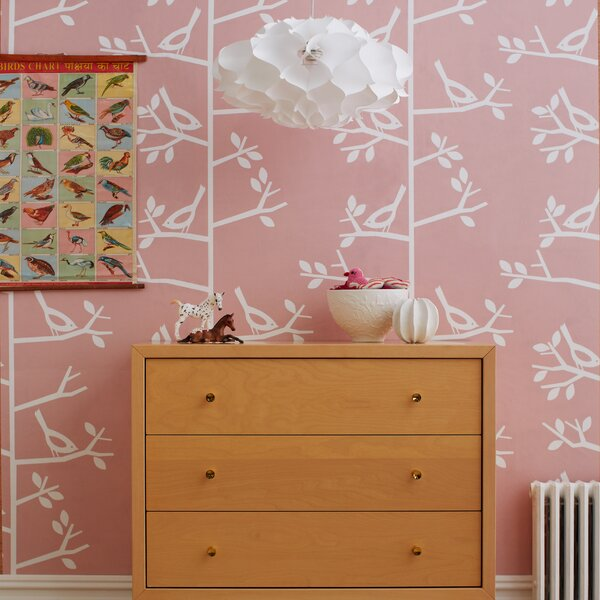 DwellStudio Sparrow Wallpaper