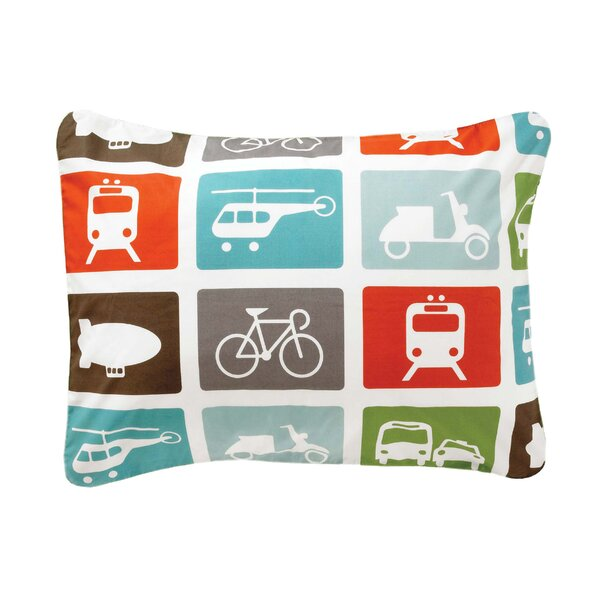 DwellStudio Transportation Standard Sham