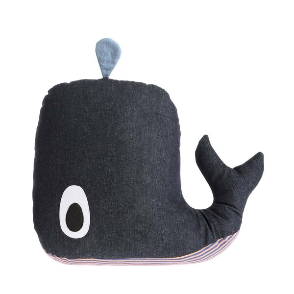 DwellStudio Whale Plush Toy
