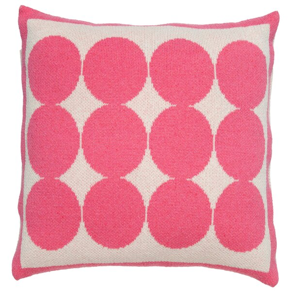 DwellStudio Graphic Dot Orchid Pillow