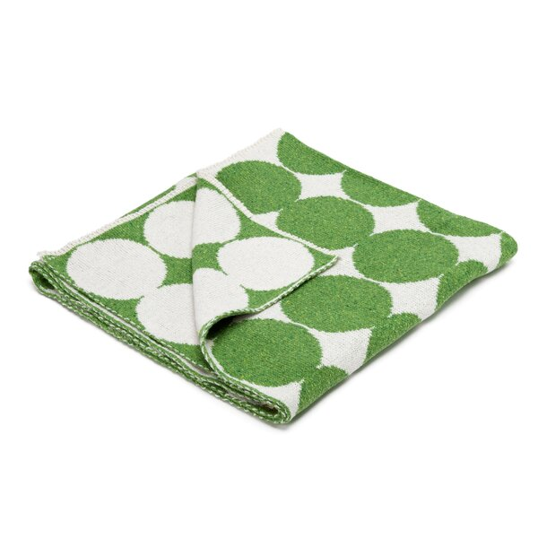 DwellStudio Graphic Dot Lime Blanket