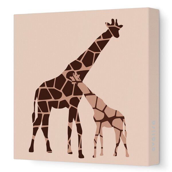 DwellStudio Graphic Giraffe Artwork