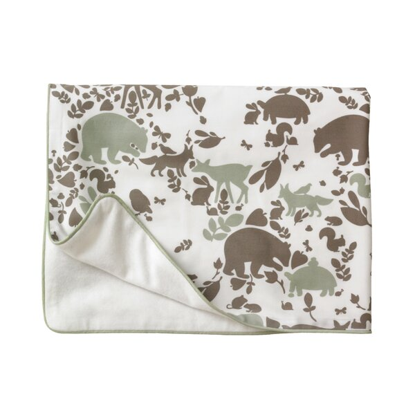 DwellStudio Woodland Tumble Stroller Blanket