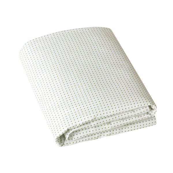 DwellStudio Pin Dot Fitted Crib Sheet