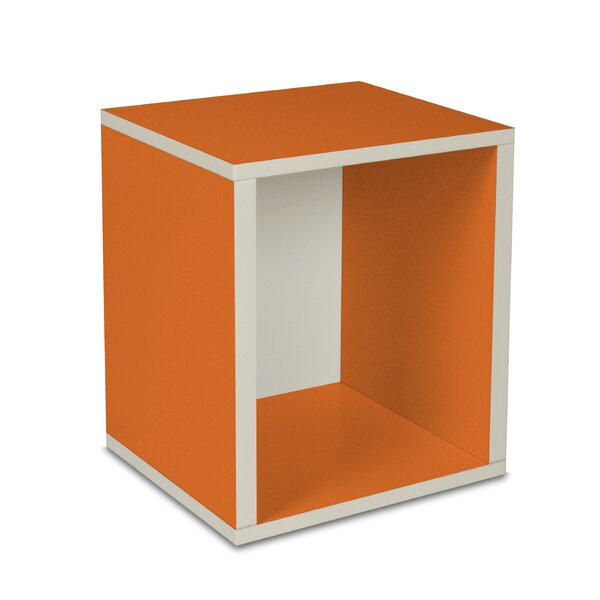 DwellStudio Cube Tangerine Storage
