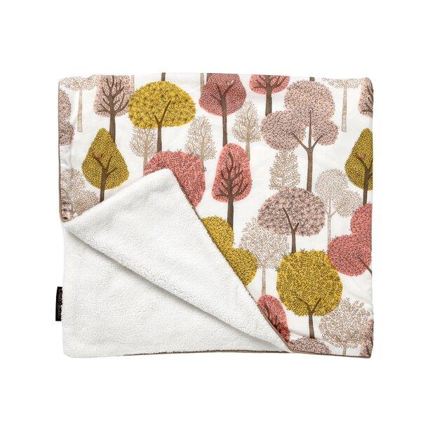 DwellStudio Treetops Velour Stroller Blanket