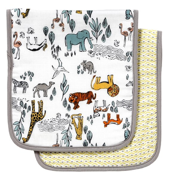 DwellStudio Safari Burp Cloth