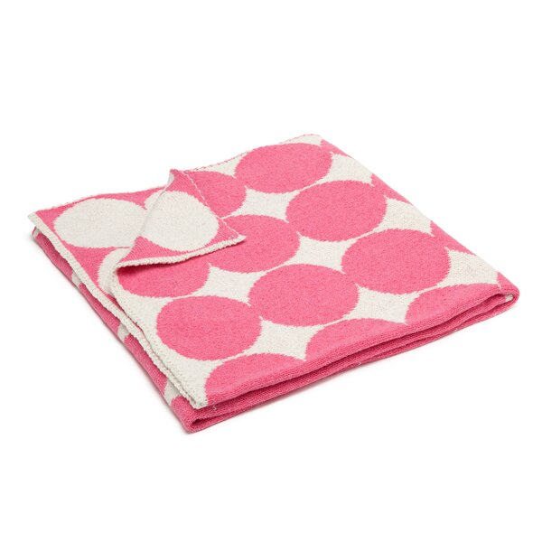 DwellStudio Graphic Dot Orchid Blanket