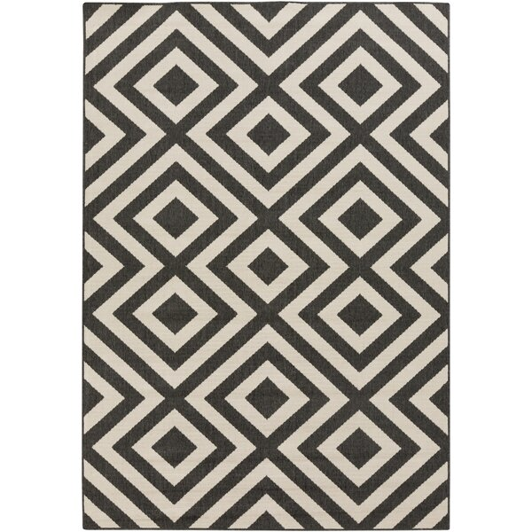 DwellStudio Evans Trellis Smoke Outdoor Rug