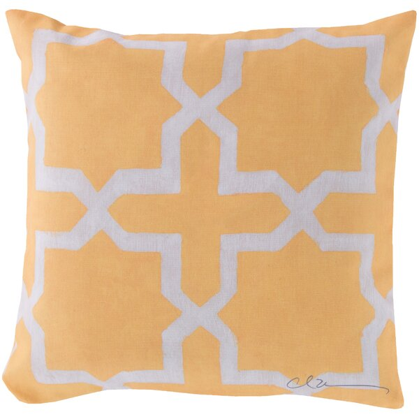 DwellStudio Madurai Lemon Outdoor Pillow