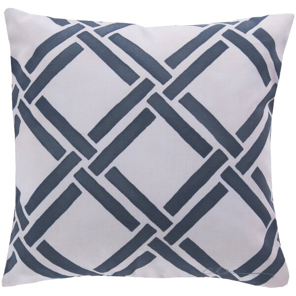 DwellStudio Gazebo Navy Outdoor Pillow