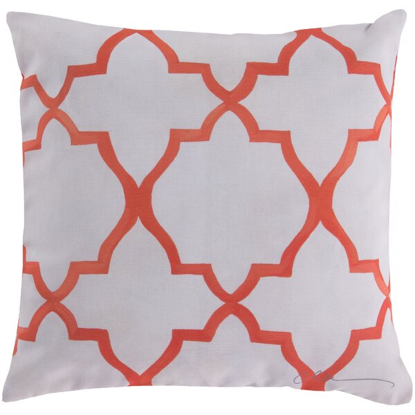 DwellStudio Minaret Persimmon Outdoor Pillow