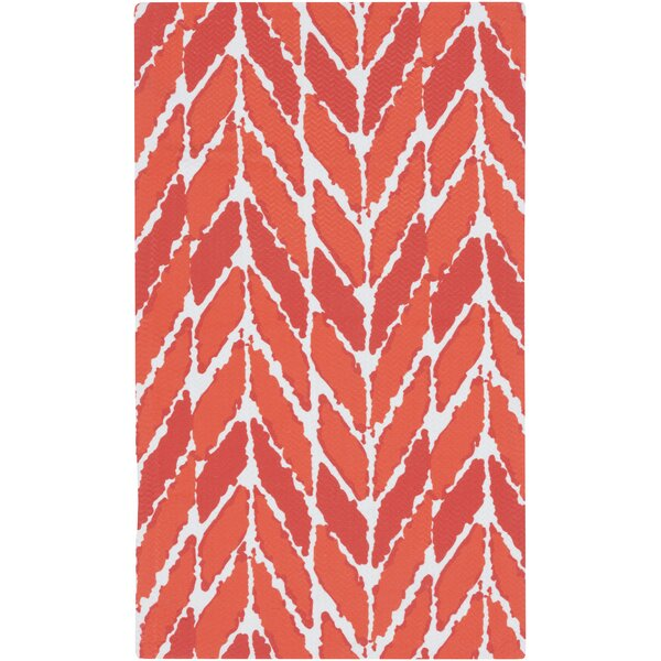 DwellStudio Arrow Tangerine Outdoor Rug