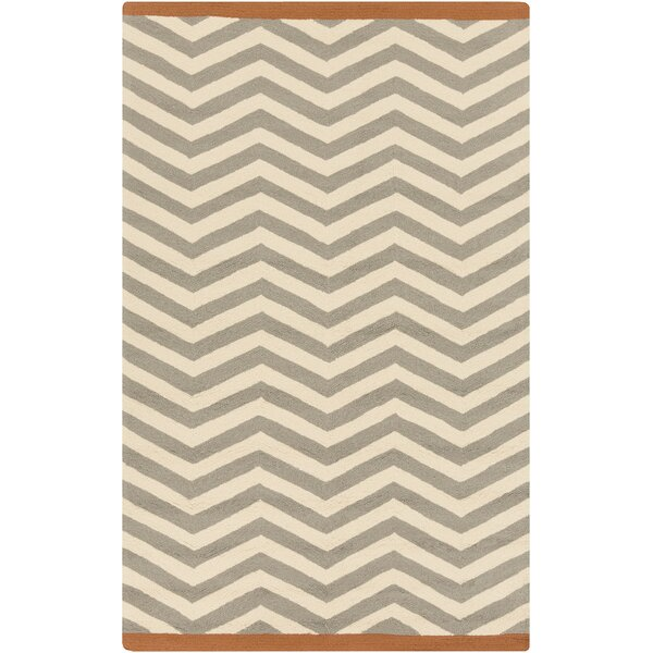 DwellStudio Chevron Dove Outdoor Rug