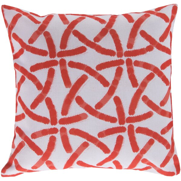 DwellStudio Celtic Trellis Persimmon Outdoor Pillow