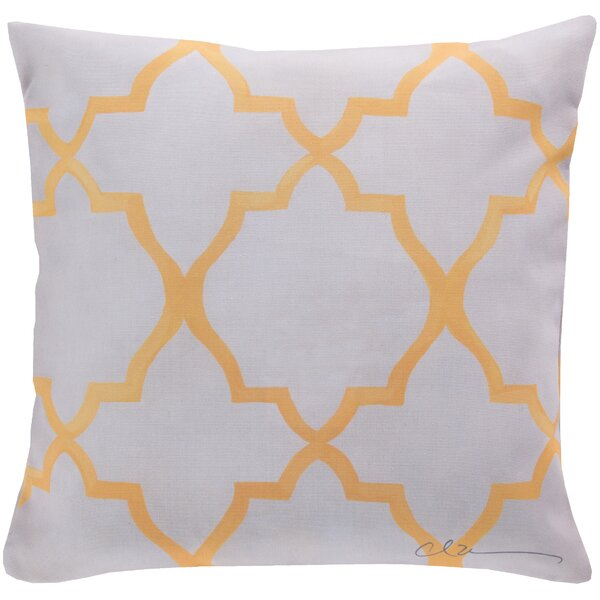 DwellStudio Minaret Lemon Outdoor Pillow