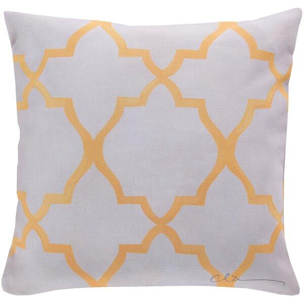 DwellStudio Minaret Lemon Outdoor Pillow