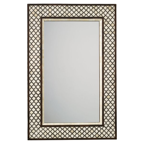DwellStudio Bone Inlay Mirror