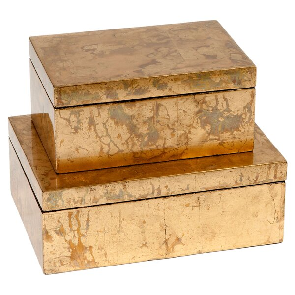 DwellStudio Gilded Box