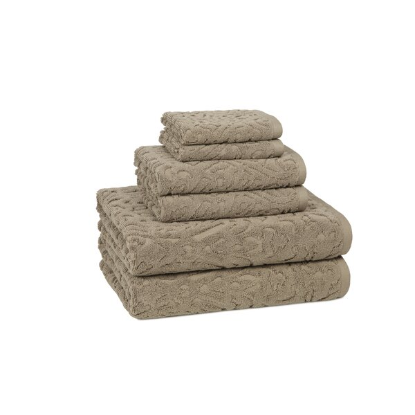 DwellStudio Carlyle 6 Piece Towel Set