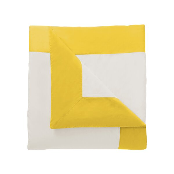 DwellStudio Modern Border Citrine Duvet Cover