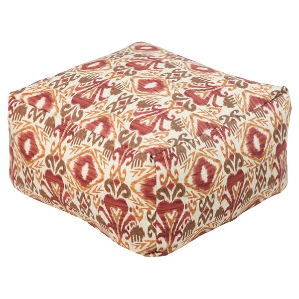 DwellStudio Ikat Outdoor Pouf Ottoman